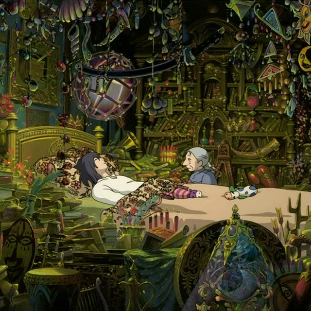 I Want Howl S Room Nerd Alert Studio Ghibli Art