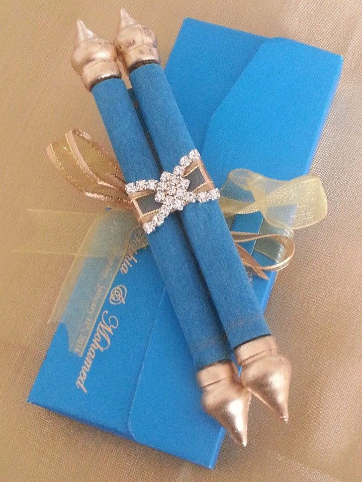 Mini Scroll with matching pouch Set of 25 and by ColorPrintOutlet, $99.75
