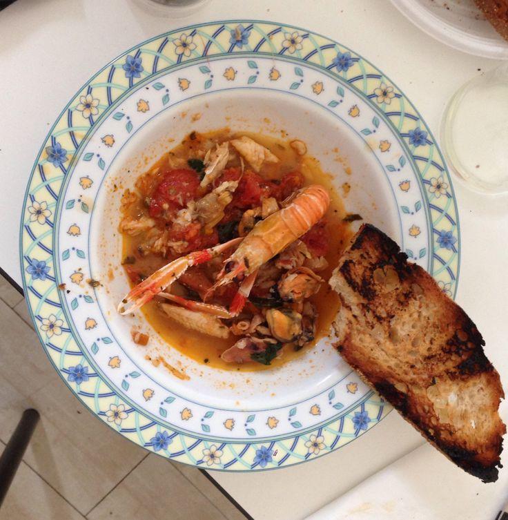 Zuppa di pesce alla spezzina