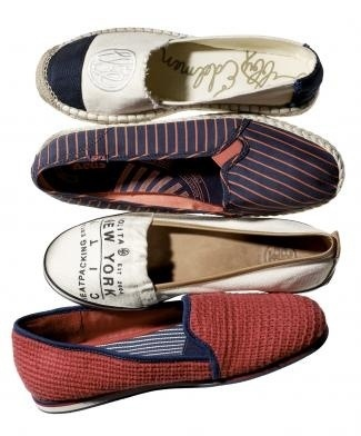 Canvas, cotton and leather styles for everyone's tootsies.
