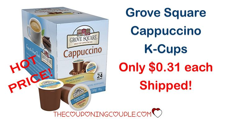 Stock Up on French Vanilla Cappuccino K Cups! Only $0.31 each shipped! Perfect for the cool weather!  Click the link below to get all of the details ► http://www.thecouponingcouple.com/grove-square-french-vanilla-cappuccino-k-cups-only-0-31-each-shipped/ #Coupons #Couponing #CouponCommunity  Visit us at http://www.thecouponingcouple.com for more great posts!