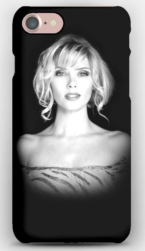 iPhone 7 Case April bowlby, Girl, Bw