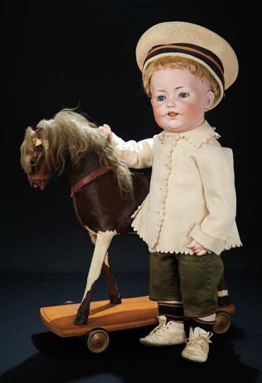 German Bisque Character with Distinctive Toddler Body and Rare Teeth by Wilizensus 1200/1700 Auctions Online | Proxibid