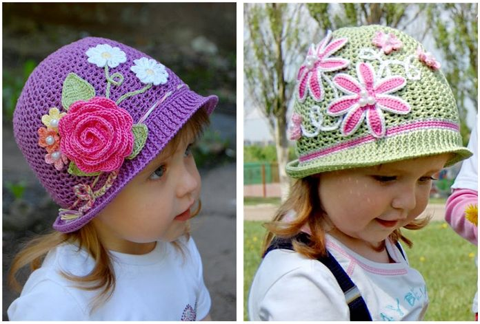 Free Crochet Pattern For Panama Hats : 17 Best images about crochet baby dreses on Pinterest ...