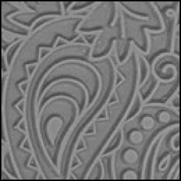 "Lisa Pavelka Texture Stamp Paisley Create beautiful designs with polymer clay, metal clay, paper,fabrics, wood, glass and more.  Ideal for clay applications including: Textile Effect, Mica Shift,Patterned Dichroic, Sutton Slice, Faux Tapestry Techniques, and much more! Stamp is 4.25"" X 5.5"" . Base Price: Excl. Tax: £8.00 Incl Tax: £9.60"