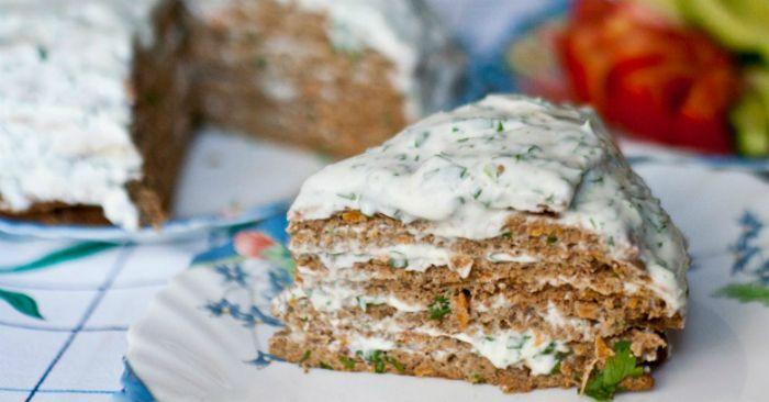 Печеночный торт без майонеза: нежнейшие коржи, незабываемый вкус! - МирТесен