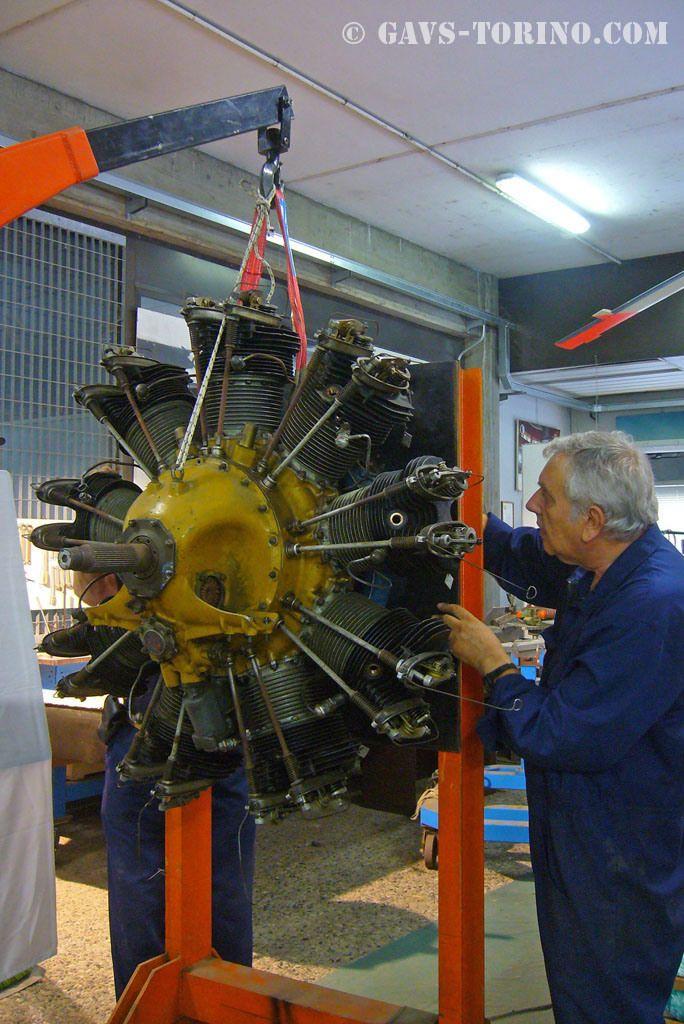 Restauro del motore Alfa D.2 C30