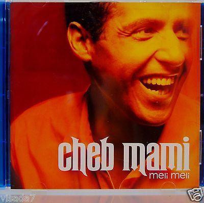 Cheb-Mami-Meli-Meli-CD-1999-Ark-21-Records-Mondo-Melodia-Series-Arabic-Pop-Rai