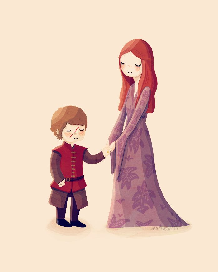 I wish Tyrion and Sansa could be a happily married couple. But it can never be.