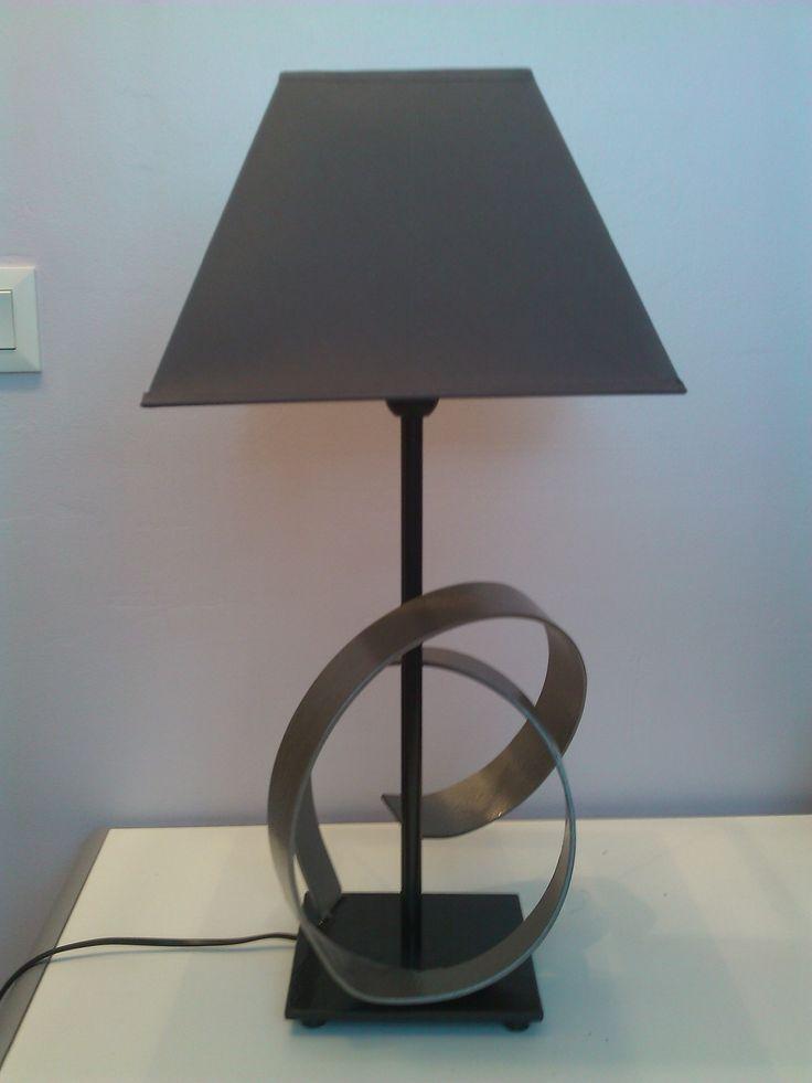 Lampe fer forgé design de créateur