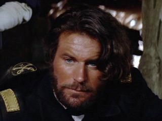 Charles Rocket in Dances with Wolves. Loved him in this. A tormented character, guess so in life as well. I am sorry he is gone,...like that.