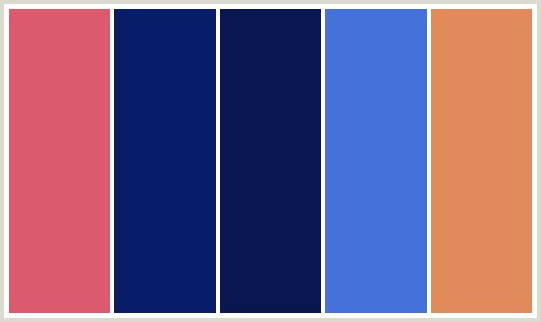 ColorCombo298   I love all five of these colors together, but any 2 or 3 would work with each other in combination.   #newyearstylechallenge