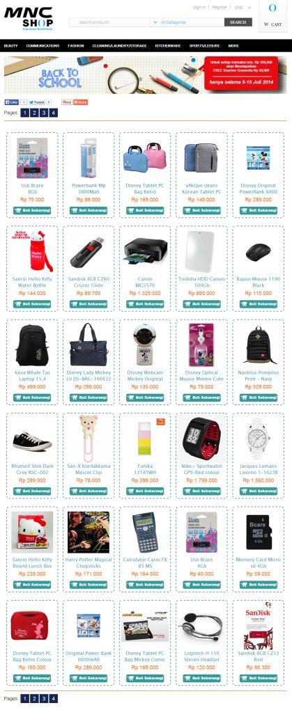 Promo Back To School MNC Shop  #mncshop #promomncshop #mncshopjakarta