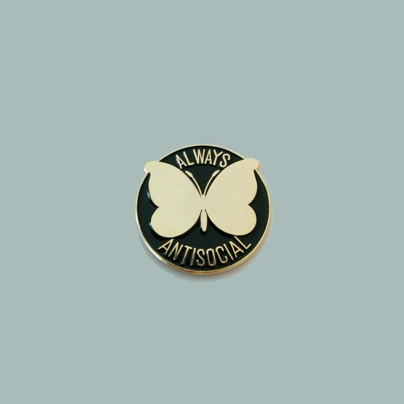 Altijd asociale Butterfly glazuur Pin / door WhoAreYouCurlySue