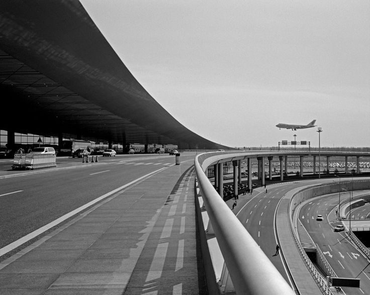 Chien-Chi Chang CHINA. Beijing. 2008. Beijing Capital International Airport.