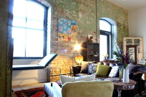 Eklektisches Interior Design in einer Loft Wohnung in New Orleans  - #Wohnideen
