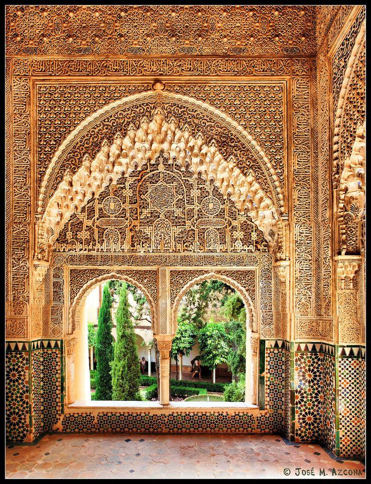 Granada mirador de daraxa 1354 1359 desde la sala for Sala mirador