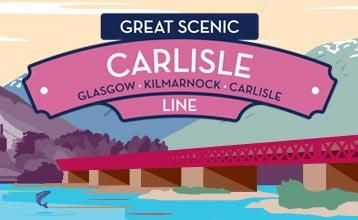 Explore this great scenic route, the Glasgow-Kilmarnock-Carlisle Line, with ScotRail. Find out the highlights, journey times and buy tickets online