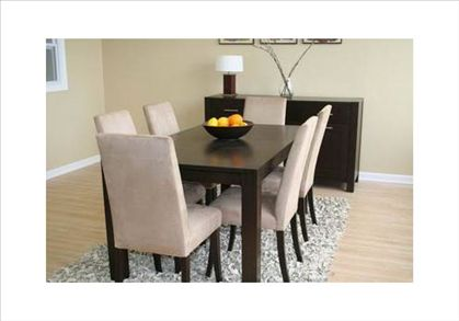 Modern Home Interior Design: Contemporary dining room table is ...