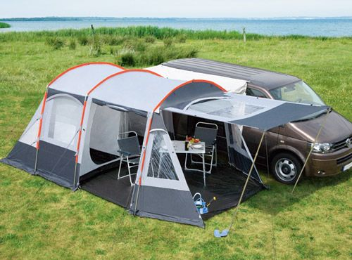 5 Ingenious European Camper In A Box Designs tent attached to van | add this to the penthouse top and ...