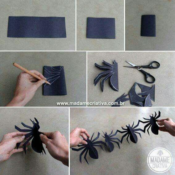 Spider girlande
