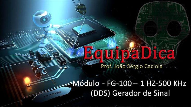 Analise do Gerador de Sinais modelo FG-100