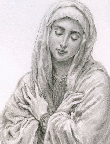 Blessed Virgin by Anthony VanArsdale