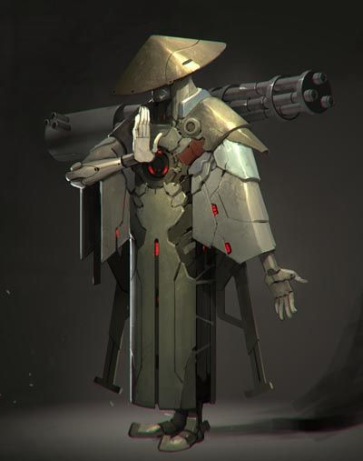 Ichido Monk Bot by Reza-ilyasa.deviantart.com on @deviantART