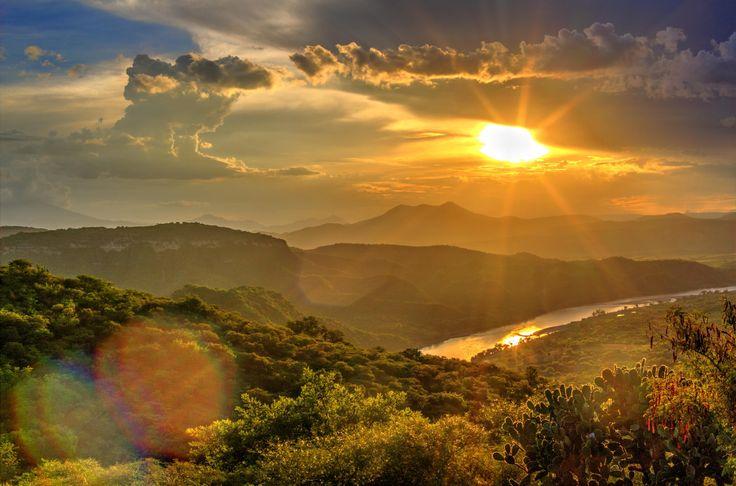 Photograph Sunset at Mezcala by Esteban Roman-Pintos on 500px
