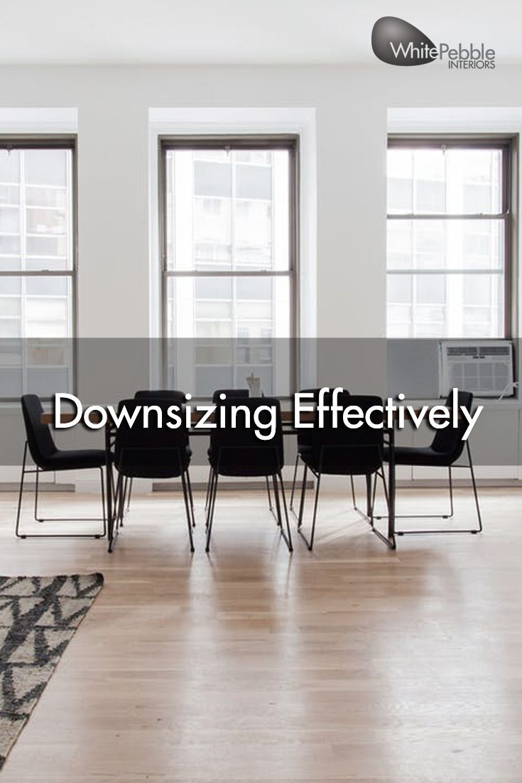 Downsizing doesn't mean you have to replace everything and start again. Read our blog to find out some tips on downsizing effectively.