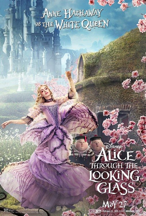 When things feel upside down, have faith that they'll turn around. Anna Hathaway returns as the White Queen in Disney's Alice Through the Looking Glass, in theatres on May 27.