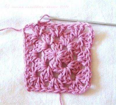 Granny square tutorialCrochet Granny Squares, Carina Craftblog, Crochet Tutorials, Granny Square Tutorial, Yarns, Crafts Blog, Tutorials Crochet, Crochet Pattern, Granny Squares Tutorials