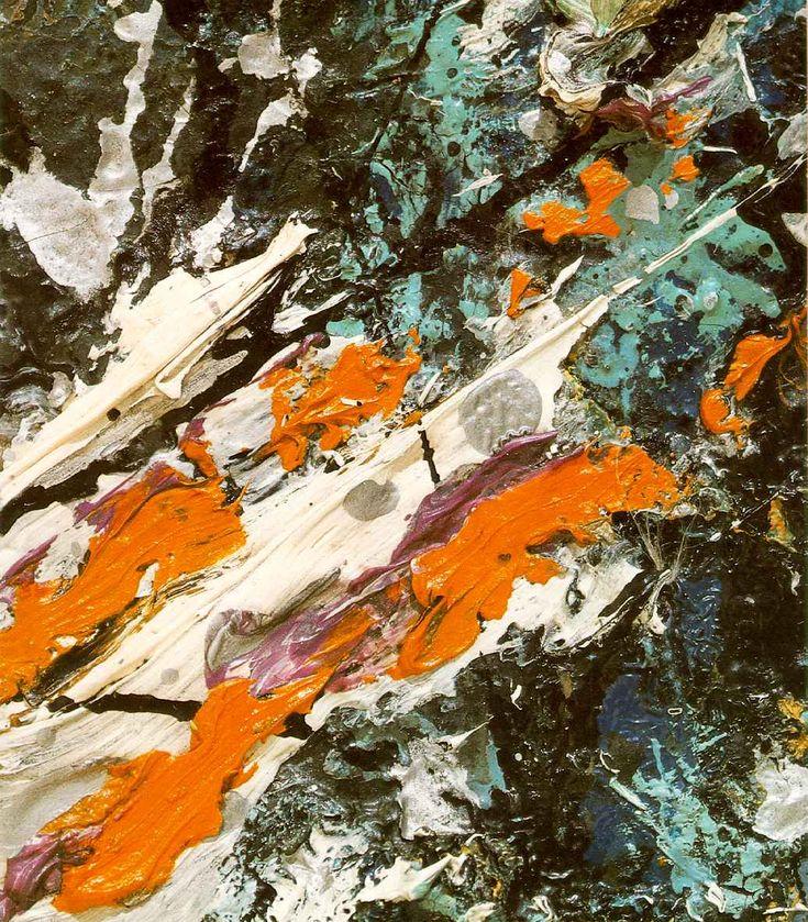 Jackson Pollock- Full Fathom Five (detail), 1947.  Art Experience NYC  www.artexperiencenyc.com/social_login/?utm_source=pinterest_medium=pins_content=pinterest_pins_campaign=pinterest_initial