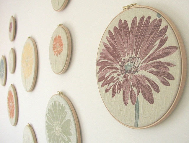 21 best embroidery hoop wall inspiration images on Pinterest ...