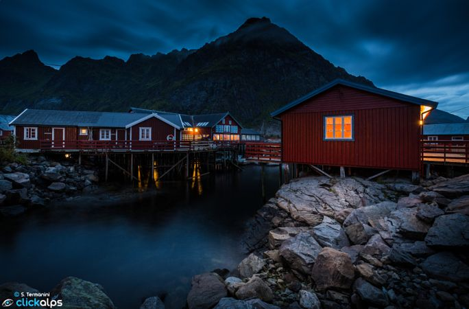 Lofoten night by Stefano Termanini
