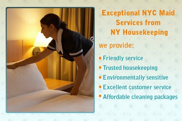 NY Housekeeping supply candidates primarily through referral, and a range of media resources each on-line and offline. Call NY Housekeeping in Brooklyn for additional info and to trial experienced housekeeper candidates.