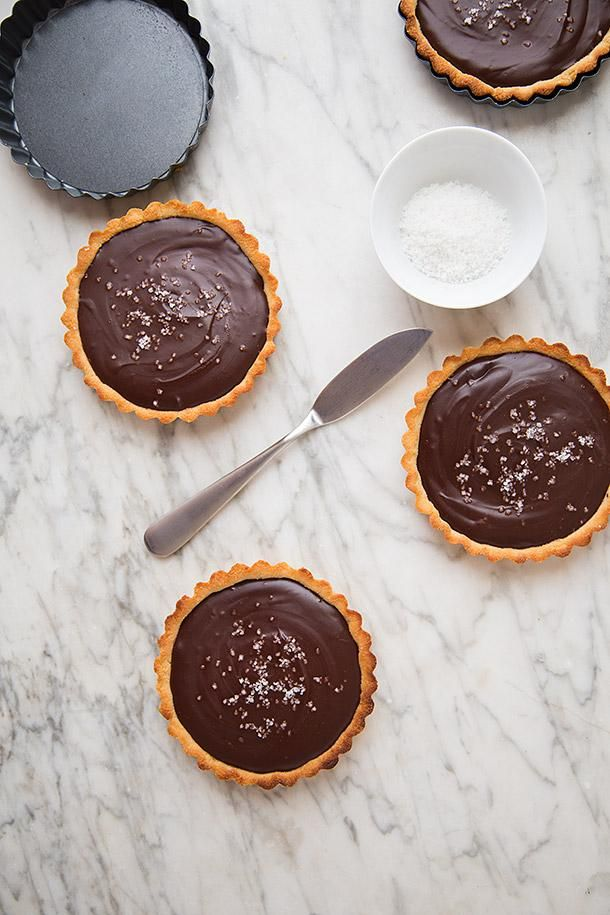 Salted-Mexican-Chocolate-Ganache-Tarts