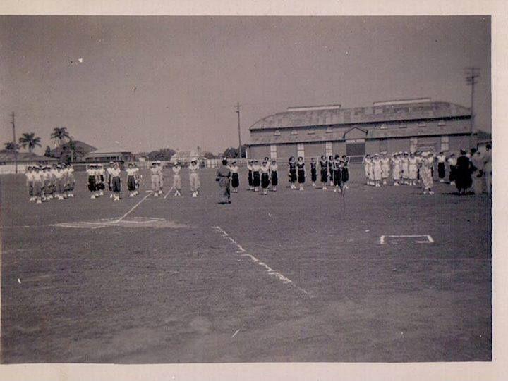 Maryborough Softball March Past 1954 - Old Maryborough Showgrounds