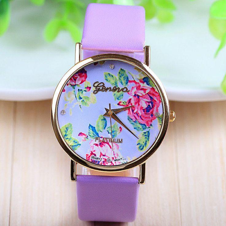 Levendula színű óra ;-) <3