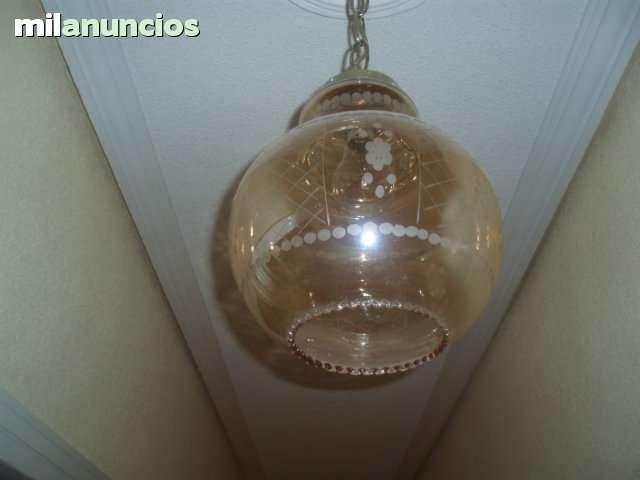 Vendo preciosa lámpara antigua vintage