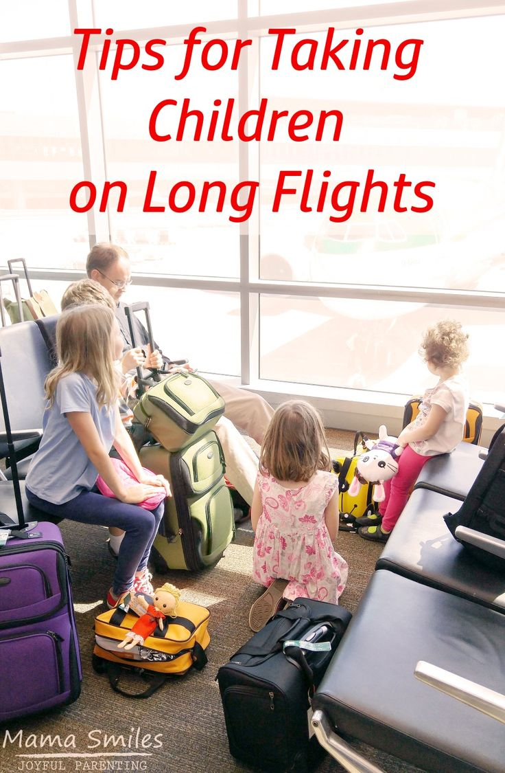 Long flights are exhausting for anyone, but especially when traveling with children! These tips will save your sanity - and that of your fellow passengers.