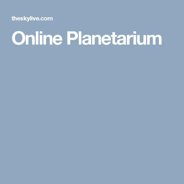 Online Planetarium
