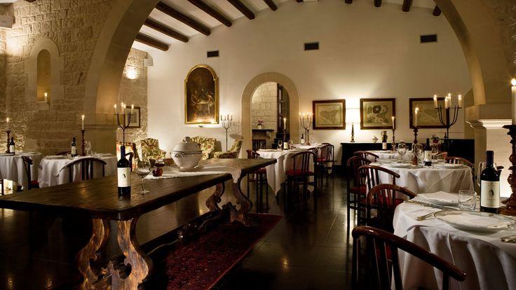 Restaurant at Eremo della Giubliana, Sicily