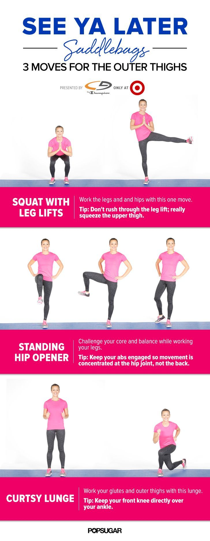 See Ya Later Saddlebags 5 Minute Outer Thighs Workout