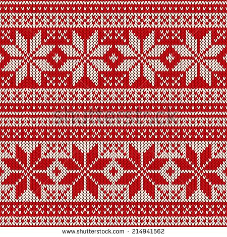 free fair isle knitting patterns - Google Search