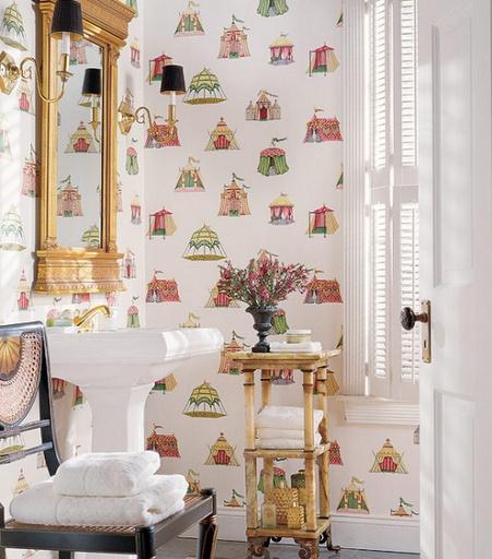 Powder Bathroom Ideas: 25+ Best Ideas About Antique Wallpaper On Pinterest