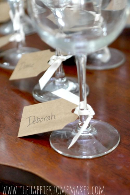 Wine Tasting Party - some great ideas!