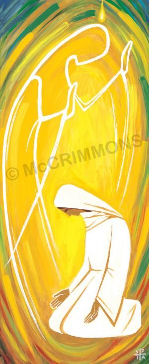 Annunciation by The Benedictine Sisters of Turvey Abbey