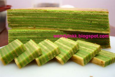 Kaya (Pandan Jam) Layer Cake Recipe