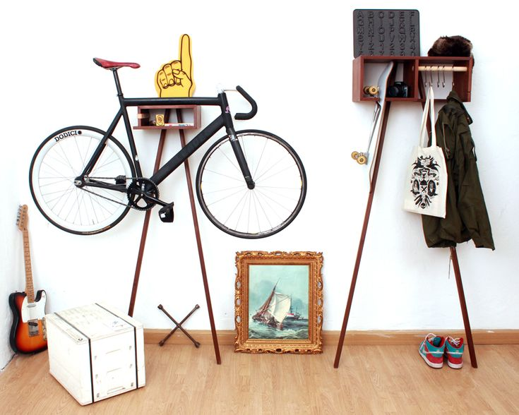 BIKE RACK AND WARDROBE